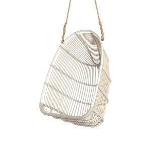 Sika-Design Renoir Riippukeinu Tyynyllä Ulkokäyttöön Valkoinen