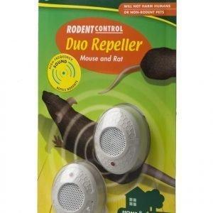Silvatronic Duo Repeller Sähköinen Hiiren- Ja Rotankarkotin 2 Kpl