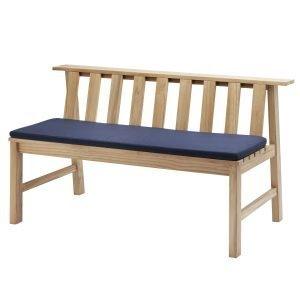 Skagerak Plank Bench Penkin Istuintyyny Sininen