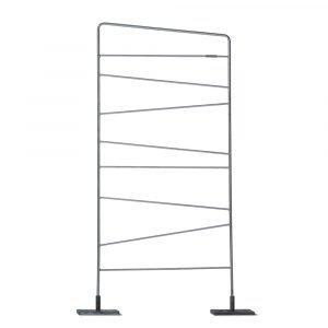 Smd Design Trellis Säleikkö Galvanoitu Pelti 150x60 Cm