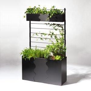 Smd Design Urban Garden Istutuslaatikko Musta