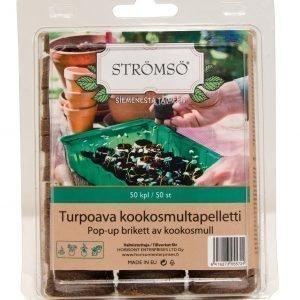 Strömsö Turpoava Kookosmultapelletti 50 Kpl/Pkt