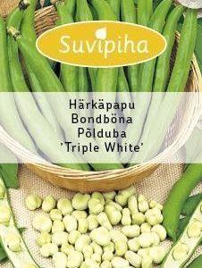 Suvipiha Härkäpapu Triple White