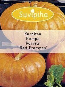 Suvipiha Kurpitsa Red Etampes Annos