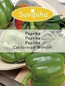 Suvipiha Paprika California Wonder