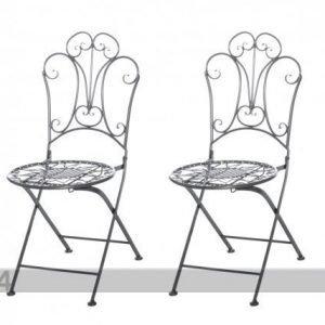 Tamm Kokoontaitettava Puutarhatuoli Romantic 2 Kpl