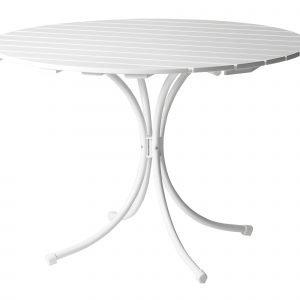 Varax Suvisaari Puutarhapöytä 4:Lle Valkoinen