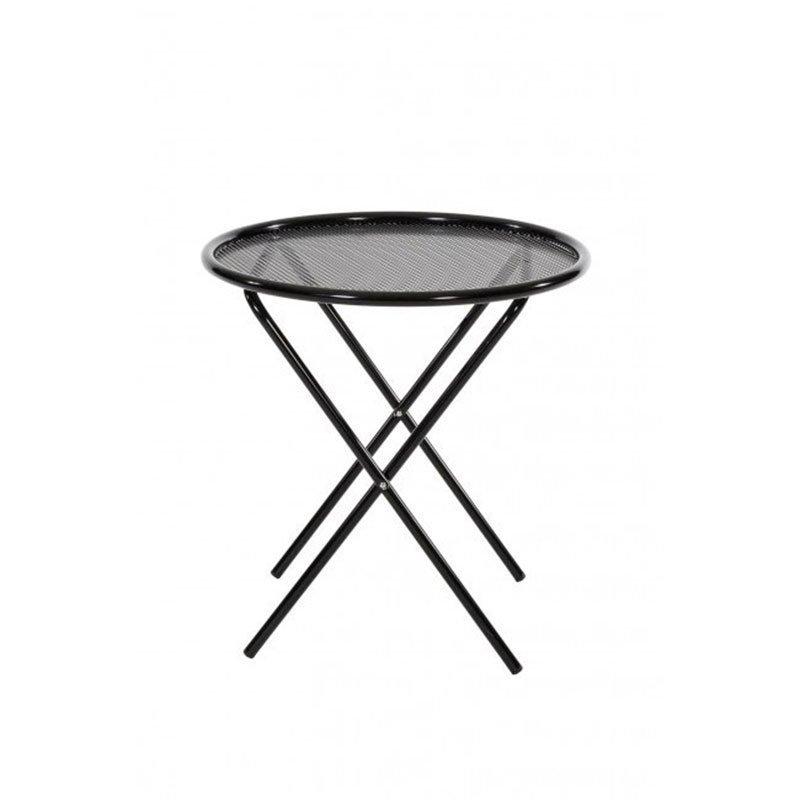 Varax Tuuli Pöytä pyöreä Musta