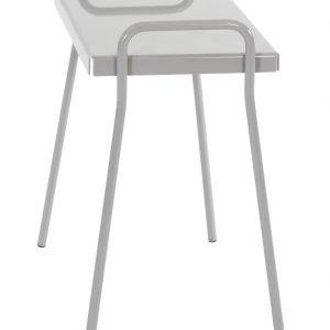 Varax Tuuli Puutarhapöytä Valkoinen Betoninharmaa 30x50 Cm