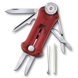 Victorinox Golf Tool Työkalu Punainen Läpikuultava