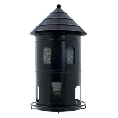 Wildlife Garden Iso Linnunruokinta-automaatti Musta